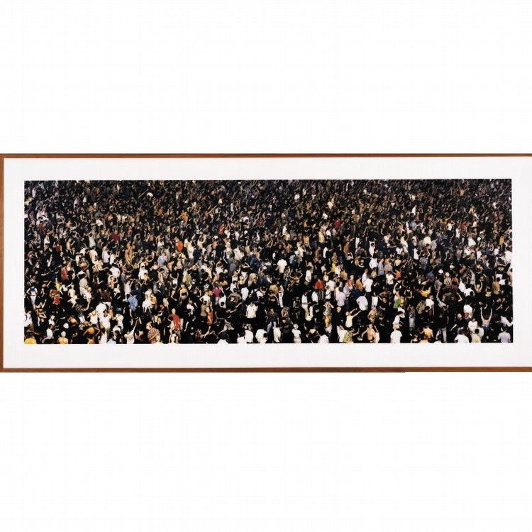 ANDREAS GURSKY B. 1955 MAY DAY IV