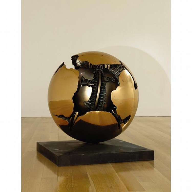 ARNALDO POMODORO B. 1926 SPHERE WITHIN A SPHERE