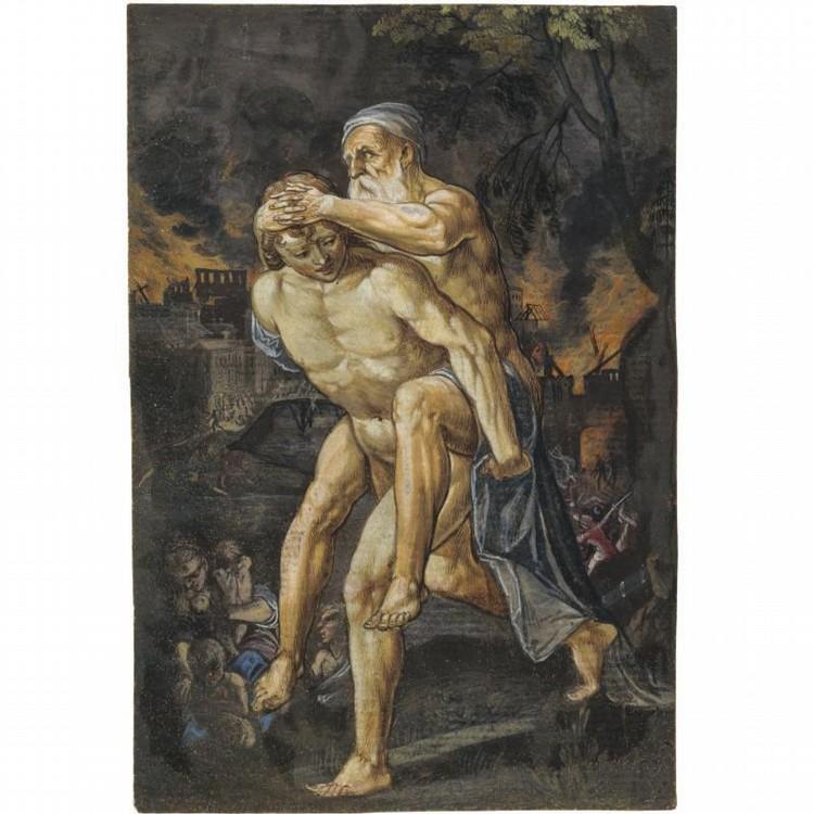 ADAM ELSHEIMER FRANKFURT AM MAIN 1578 - 1610 ROME