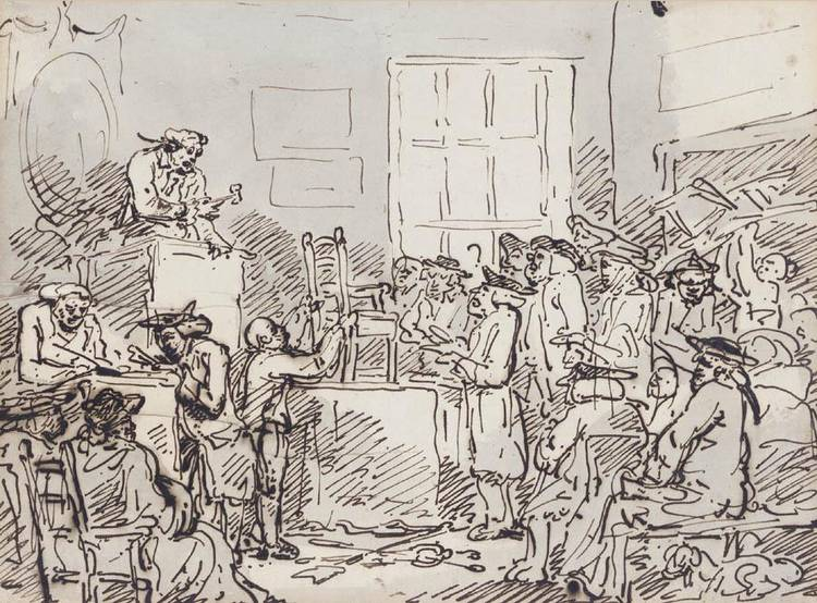 THOMAS ROWLANDSON 1756-1827
