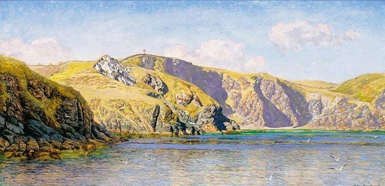 JOHN BRETT, A.R.A. 1830-1902