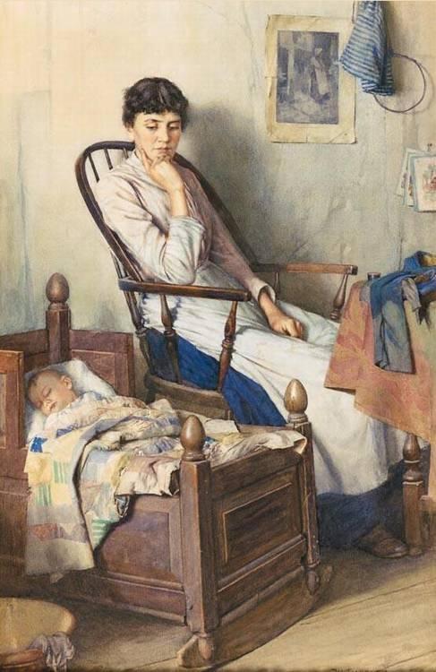 f - WALTER LANGLEY, R.I. 1852-1922