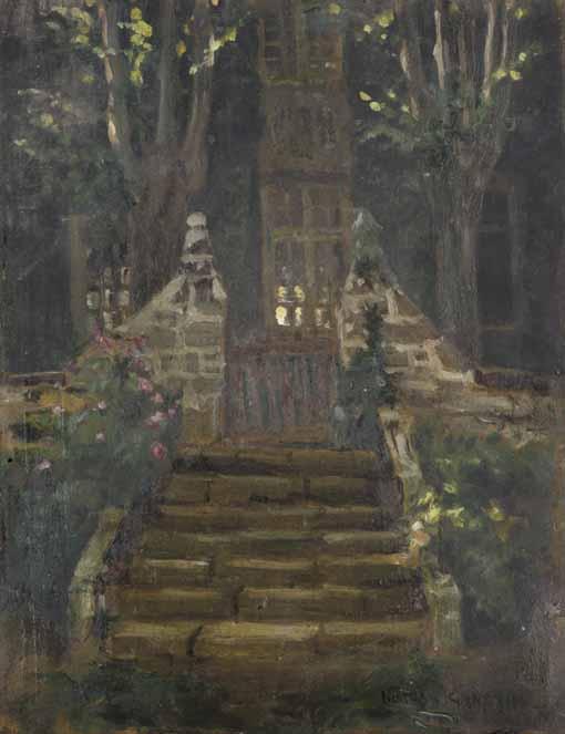 NORMAN GARSTIN, BRITISH 1847-1926