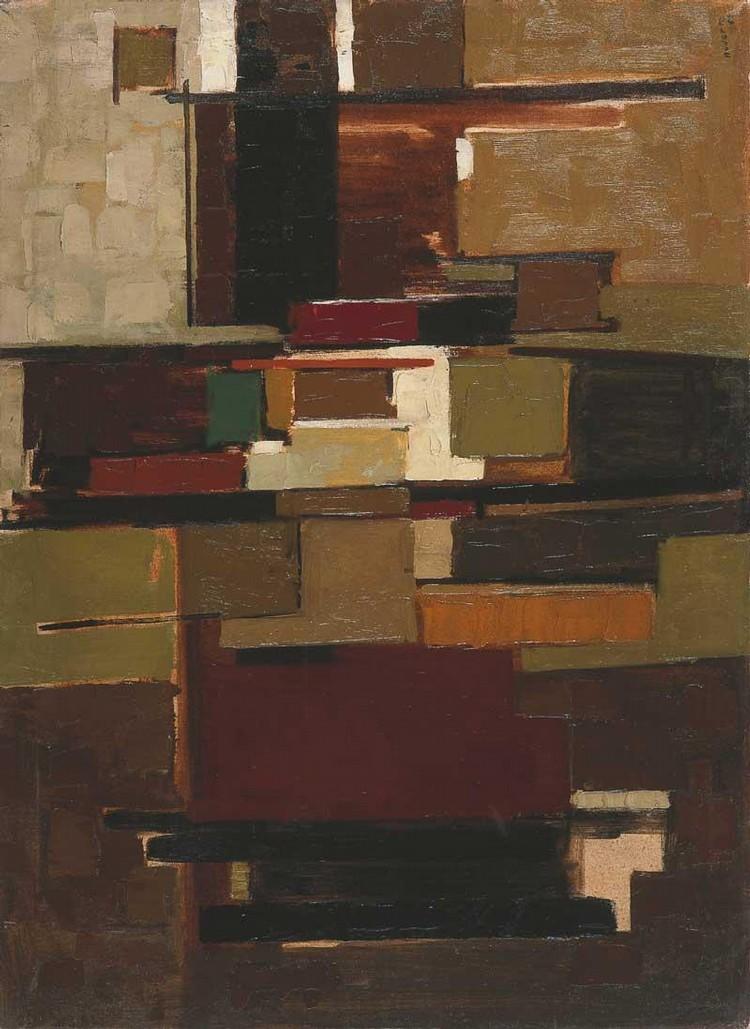 YVONNE AUDETTE B. 1930 COMPOSITION