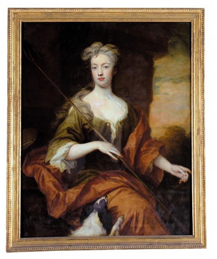 SIR GODFREY KNELLER, BT. 1646 - 1723 PORTRAIT OF LADY SOPHIA OSBORNE, BARONESS LEMPSTER