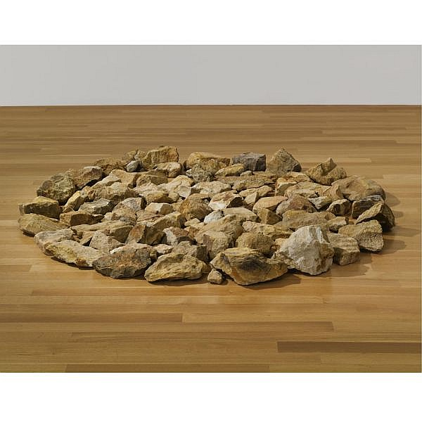 Richard Long , b. 1945 Stone Circle 100 Japanese sandstones