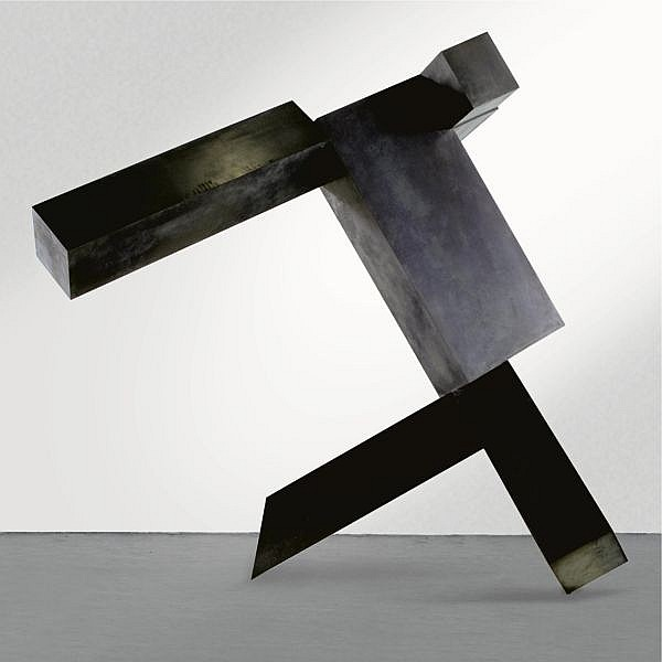 Joel Shapiro , b. 1941 Untitled (JS-819-SC) silicon bronze plate