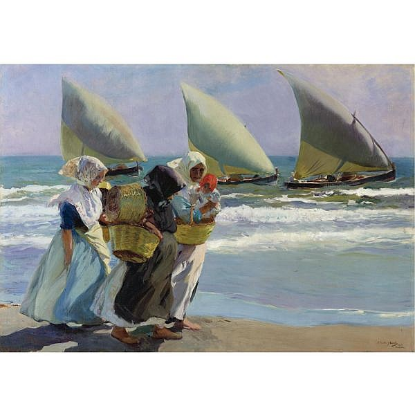 Joaquín Sorolla y Bastida , 1863-1923 