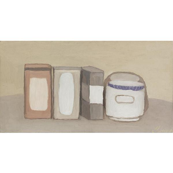 - Giorgio Morandi , 1890-1964 Natura morta Oil on canvas