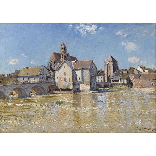 Alfred Sisley , 1839-1899 