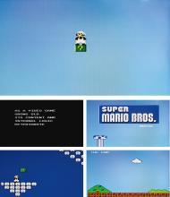 CORY ARCANGEL & PAPER RAD   Super Mario Movie