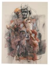 JENNY SAVILLE | Study for Isis and Horus