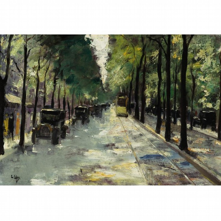 PROPERTY FROM AN ESTATE LESSER URY GERMAN, 1861-1931 BERLIN STREET