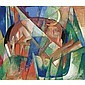 l - Franz Marc , FABELTIER II (PFERD) (FABULOUS ANIMAL II, HORSE), Franz Marc, Click for value