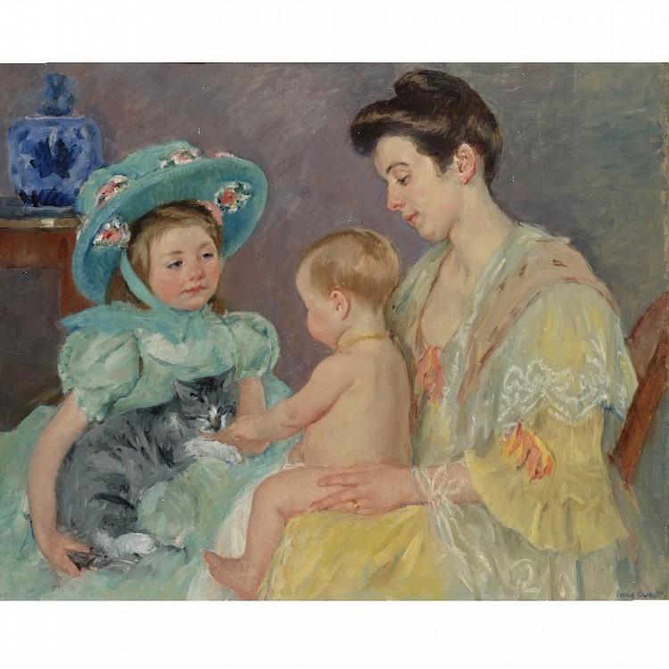 MARY CASSATT 1845-1926