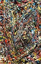 Jean-Paul Riopelle , 1923-2002 Sans titre huile sur toile   , Jean-Paul Riopelle, Click for value