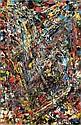 Jean-Paul Riopelle , 1923-2002 Sans titre huile sur toile   , Jean-Paul Riopelle, Click for value