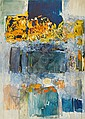 - Joan Mitchell , 1925-1992 La ligne de la rupture huile sur toile   , Joan Mitchell, Click for value