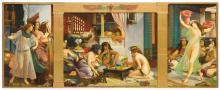 JEAN-JULES-ANTOINE LECOMTE DU NOÜY | Ramses dans son harem