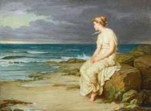 JOHN WILLIAM WATERHOUSE, R.A., R.I. | Miranda