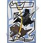 - Enrico Prampolini , 1896-1956   Tensioni astratte olio su tela     , Enrico Prampolini, Click for value