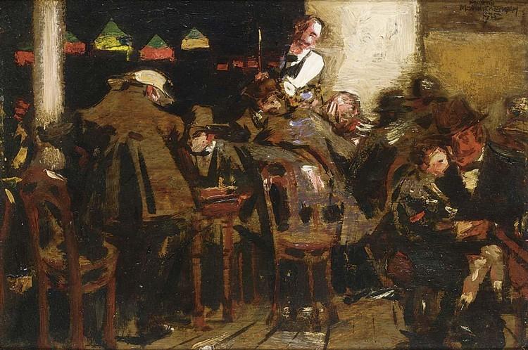 MARTIN MONNICKENDAM DUTCH, 1874-1943