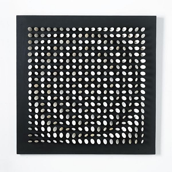 Julio Le Parc (B. 1928) , Ordination d'une surface, vitesses progressives de rotation