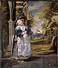 THE PROPERTY OF A LADY f - JACOB JORDAENS ANTWERP 1593 - 1678 PORTRAIT OF THE PAINTER'S DAUGHTER, Jacob Jordaens, Click for value
