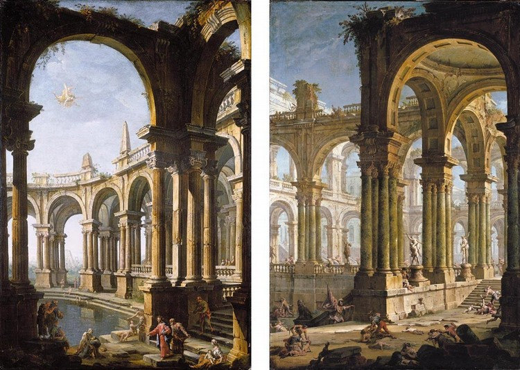 PROPERTY FROM A PRIVATE COLLECTION ANTONIO JOLI, AND GASPARE DIZIANI BELLUNO 1689 - 1767 VENICE