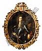 Nicolaes Maes , Dordrecht 1634 - 1693 Amsterdam Portrait de Johann Ortt (1642-1701) ; Portrait de son épouse, Anna Pergens (1650-1733) Huile sur toile, ovale, une paire   , Nicolaes Maes, Click for value