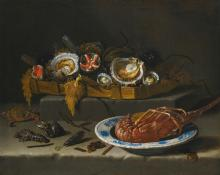 GIUSEPPE RECCO | Still life of the fruits of the sea