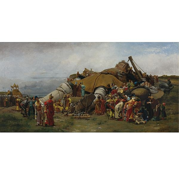 Jehan-Georges Vibert , French 1840-1902 