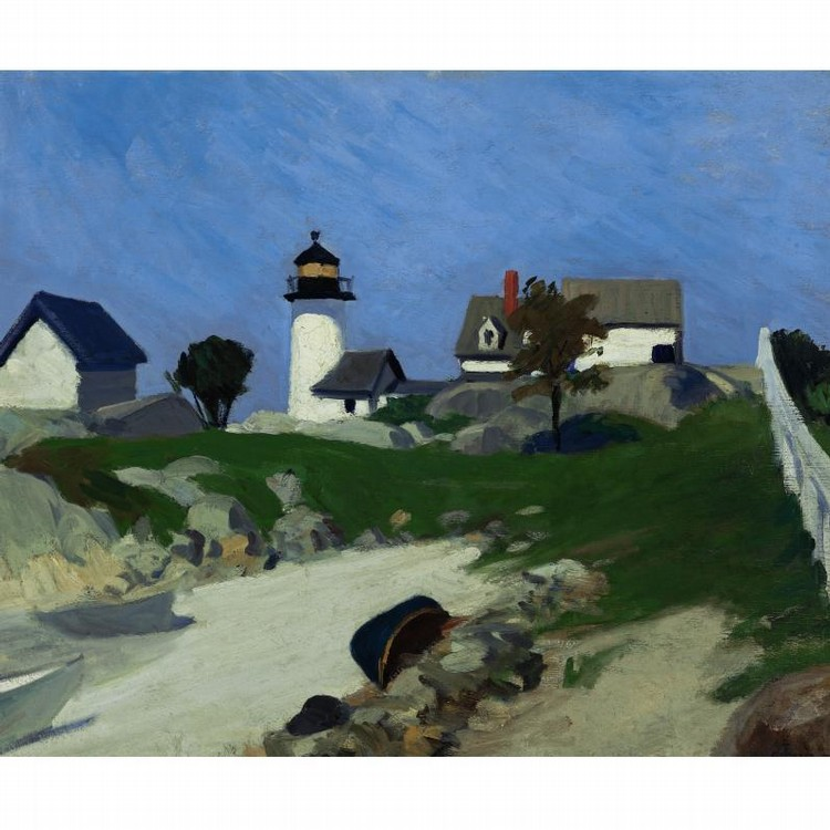 EDWARD HOPPER 1882-1967 SQUAM LIGHT