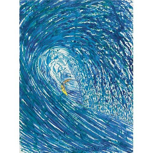 Raymond Pettibon , Untitled (Asea... My Secret Spot)