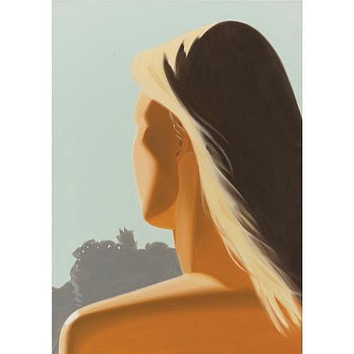 Alex Katz , Girl (Back)