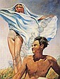 Francis Picabia , PRINTEMPS huile sur toile, Francis Picabia, Click for value