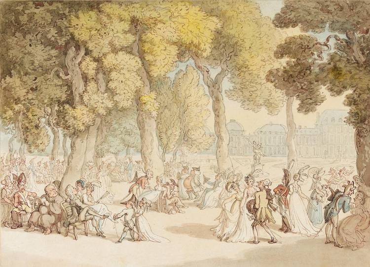 f - THOMAS ROWLANDSON 1756-1827