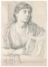 CHARLES FAIRFAX MURRAY | Study of a woman reading a book