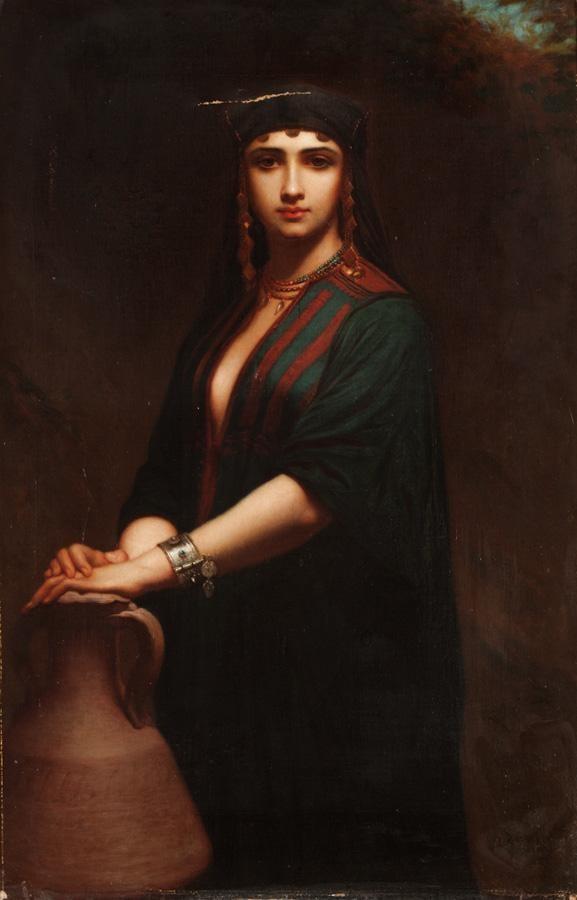 CHARLES ZACHARIE LANDELLE, FRENCH 1812-1908