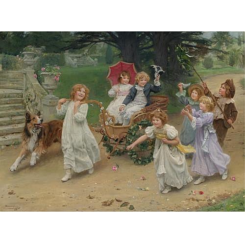 Arthur John Elsley , The Happy Pair (A Royal Procession)