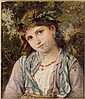 SOPHIE ANDERSON 1823-1903 AN AUTUMN PRINCESS, Sophie Gengembre Anderson, Click for value