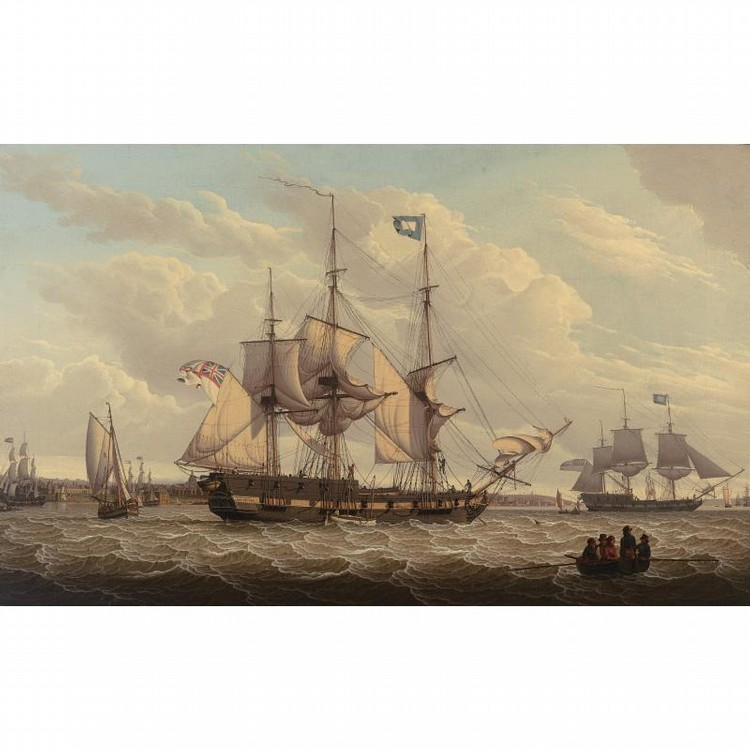 ROBERT SALMON 1775-1844