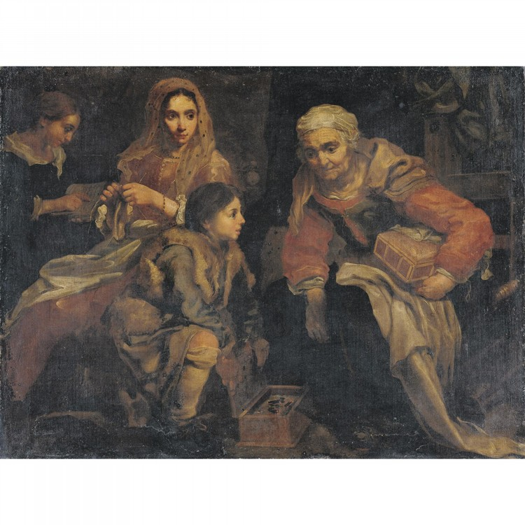 BERNHARD KEIL, CALLED MONSÙ BERNARDO HELSINGÖR 1624 - 1687 ROME
