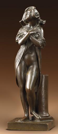 JEAN-JACQUES, DIT JAMES PRADIER,1790-1852 LA FEMME AU CHAT, VERS 1841-1850