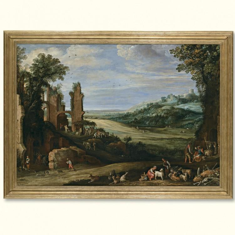 PAUL BRIL ANTWERP CIRCA 1554 - 1626 ROME