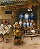 EDWIN LORD WEEKS | A Perfumer's Shop, Bombay