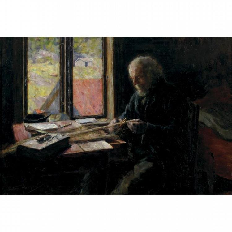ARTHUR HACKER R.A. 1858-1919