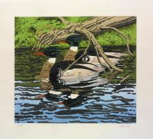 NEIL WELLIVER | Two Mergansers