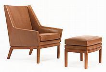 ERIK KOLLING ANDERSEN & JØRGEN MAGNUSSEN   Easy Chair and Ottoman