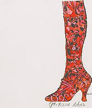 ANDY WARHOL | Gee, Merrie Shoes (not in F. & S.)